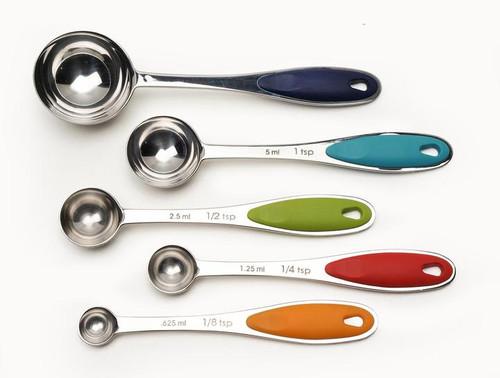 Color Handle Measuring Spoons