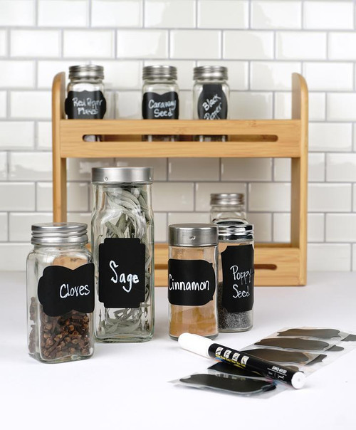 Reusable Spice Labels