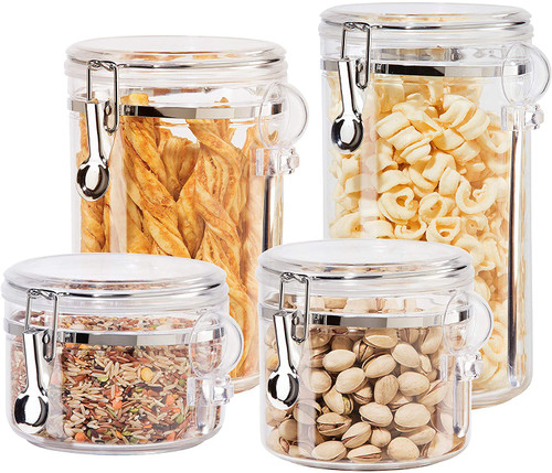 Clear Clamp Canister