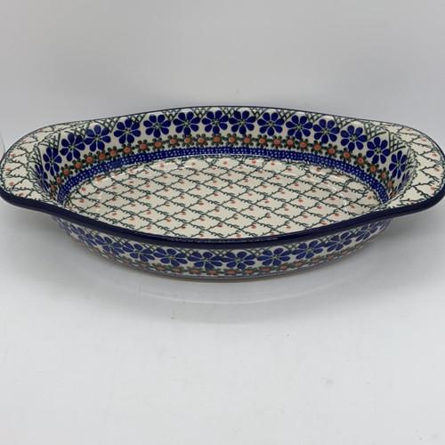 Oval Handled Baker- Primrose