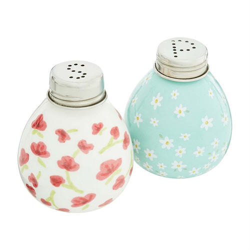 Floral Salt & Pepper Shakers