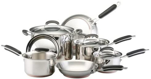 KitchenAid Stainless Steel (5-ply) Cookware - 10 pc. Set