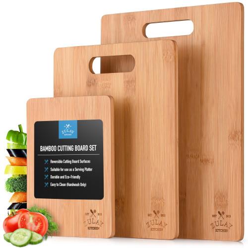 Bamboo Cutting Board - 3 pc.