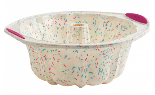Confetti Fluted Cake Pan