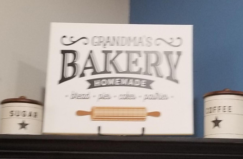 Grandma's Bakery Canvas