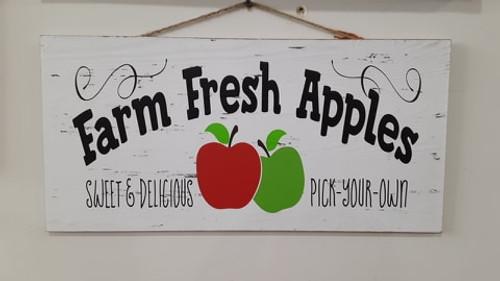 Fresh Apples- Slat