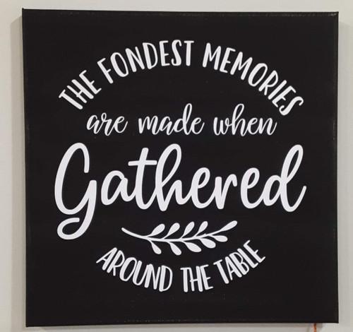 Fondest Memories Canvas