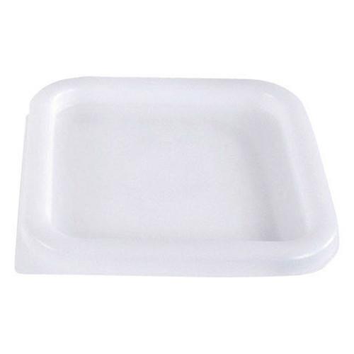Square White Lid- 2- 4 qt