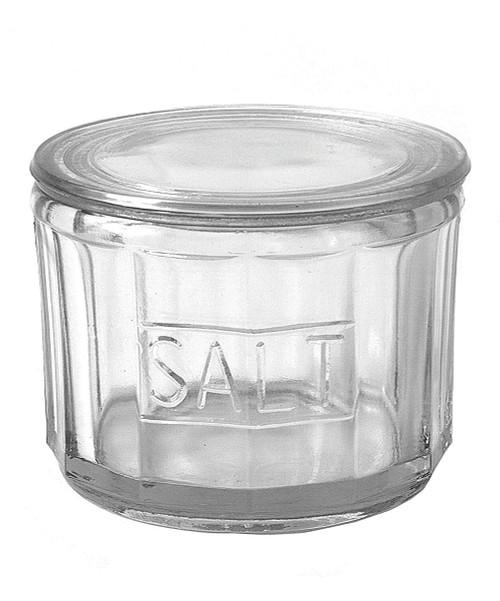 Retro Glass Salt Cellar