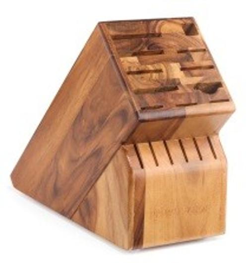 17 Slot Acacia Block