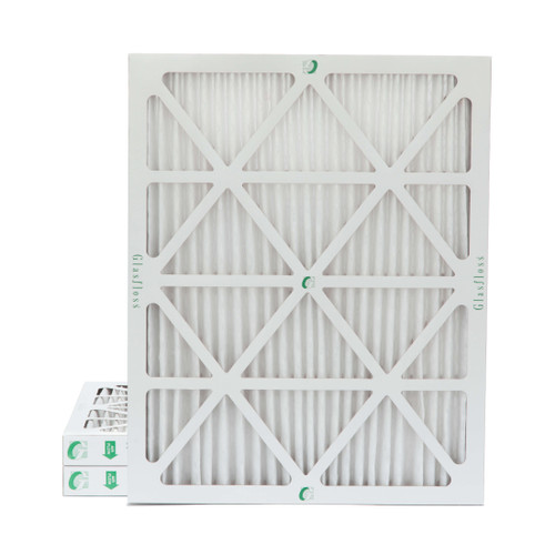 """20x24x2 MERV 8 Pleated 2"""" Inch Air Filters for HVAC Systems. 3 Pack"""