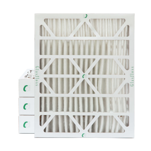 """16x20x4 MERV 8 Pleated 4"""" Inch Air Filters for HVAC Systems. 4 Pack."""