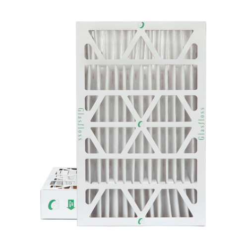 """16x25x4 MERV 8 Pleated 4"""" Inch Air Filters for HVAC Systems. 2 Pack"""