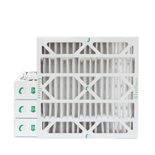 """24x24x4 MERV 8 Pleated 4"""" Inch Air Filters for HVAC Systems. 4 Pack"""