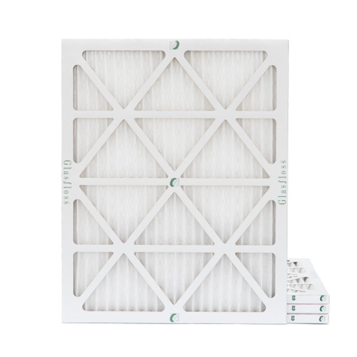 16-3/8 x 21-1/2 x 1 MERV 10 Replacement air filters for Carrier, Payne, Bryant. 4 Pack