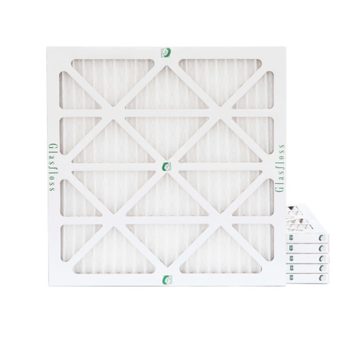 16x16x1 MERV 8 Pleated Air Filters for HVAC Systems. 6 Pack