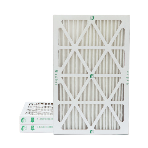 """14x25x2 MERV 8 Pleated 2"""" Inch Air Filters for HVAC Systems. 3 Pack"""