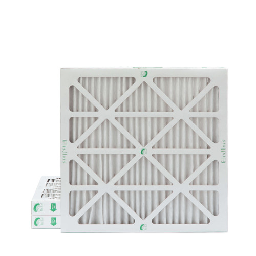 """18x18x2 MERV 8 Pleated 2"""" Inch Air Filters for HVAC Systems. 3 Pack"""