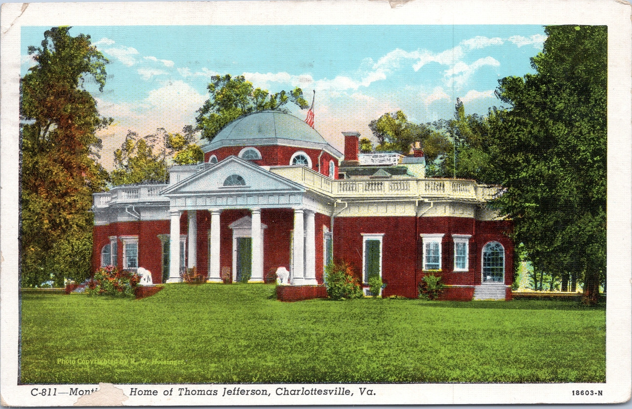 Wondrous Monticello Home Of Thomas Jefferson Home Interior And Landscaping Synyenasavecom