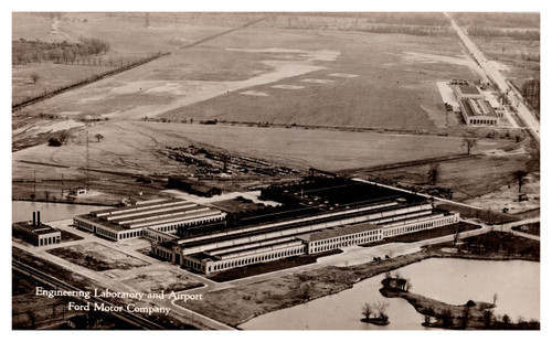 Engineering Laboratory and Airport, Ford Motor Company Dearborn