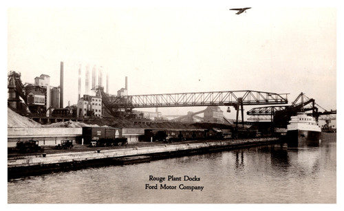 Rouge Plant Docks Ford Motor Company Dearborn