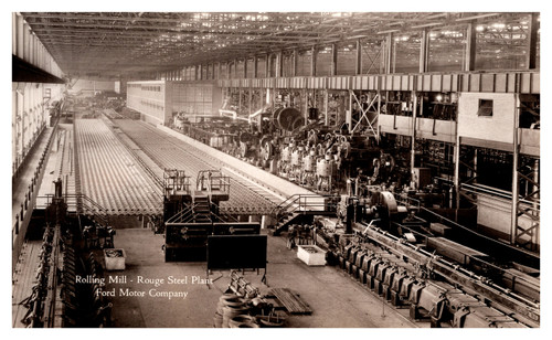 Rolling Mill - Rouge Steel Plant