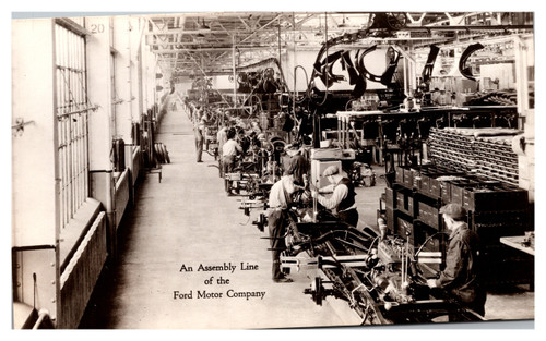 Assembly Line, Ford Motor Company