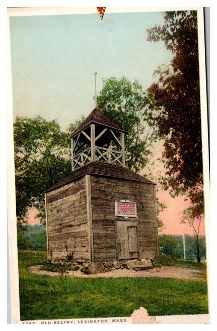Old Belfry, Lexington Massachusetts