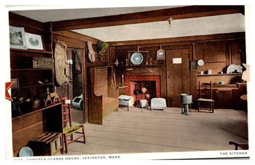 Hancock-Clark House Kitchen