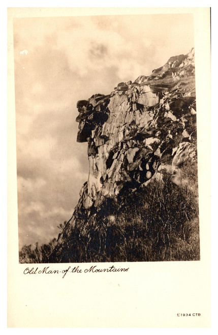 Old Man of the Mountains  C.T. Bodwell