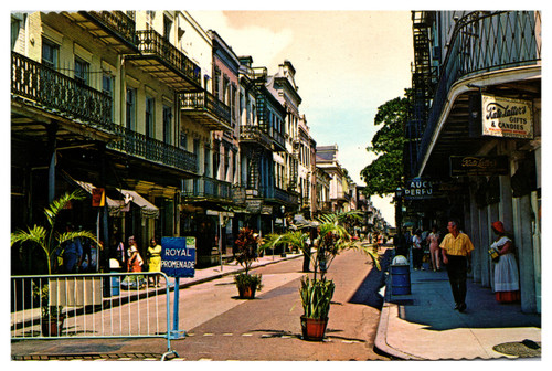 Royal Street Promenade, French Quarter, New Orleans