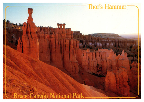 Bryce Canyon Thor's Hammer by Mark Fay