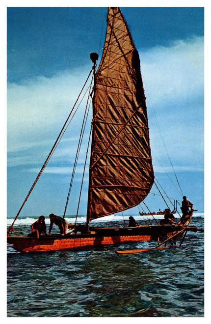 Mutiny on the Bounty Tahitian Outrigger