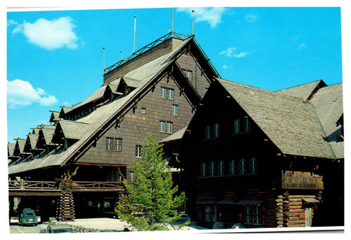 Old Faithful Inn Yellowstone