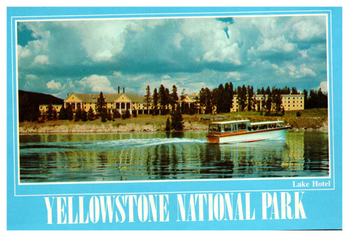 Lake Hotel Yellowstone Park