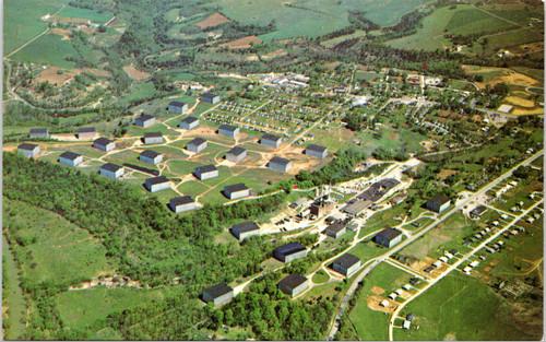 aerial Barton Distilling Company Whiskey History