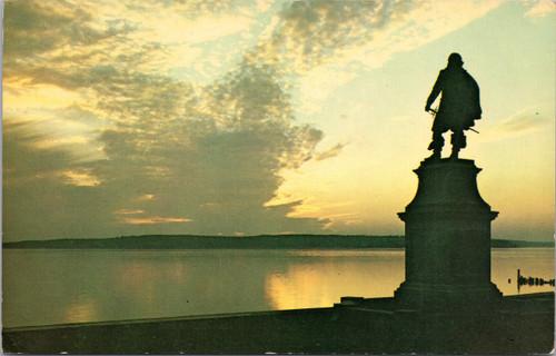 Sunset at Jamestown Capt John Smith
