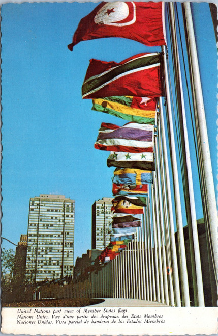 United Nations Member States Flags
