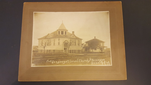 First Congregational Church and Parsonage Gilbert Iowa