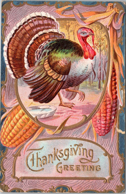 Thanksgiving Greeting series No 9