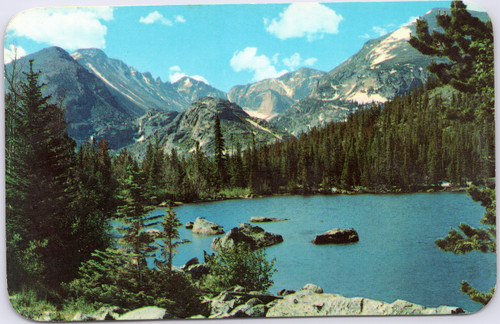 Bear Lake Long's Peak