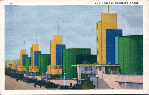 1933 Chicago World's Fair General Exhibits Group