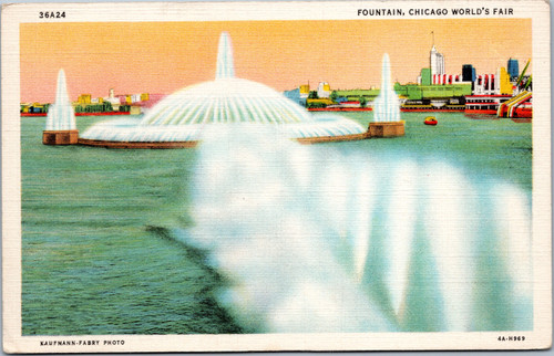 Chicago World's Fair Fountain