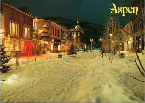 Hyman Street, Aspen, Colorado