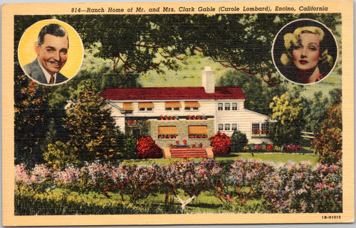 Clark Gable Carol Lombard home
