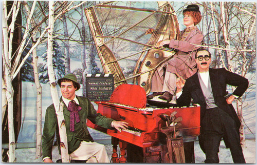 Movieland Wax Museum Marx Brothers