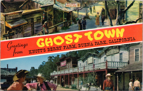 Ghost Town Knott's Berry Farm