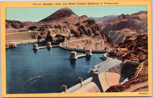 hoover dam black canyon spillway