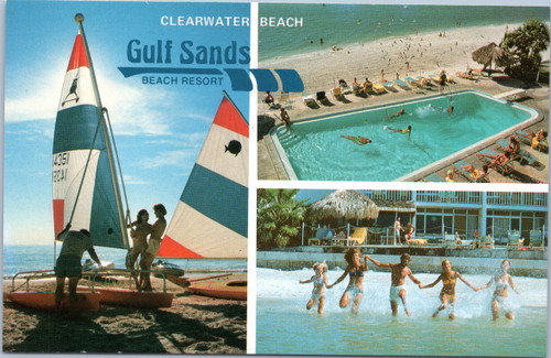 Gulf Sands Beach Resort, Clearwater Florida