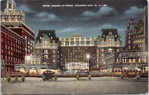 Hotel Dennis, Atlantic City NJ